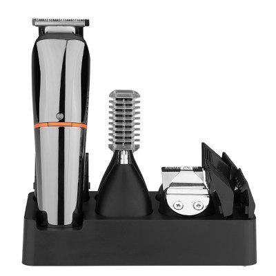 Hair Clipper 6-in-1 Charging Electric Push Type Cut Multi-function Grip Haircut USB