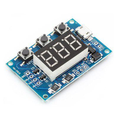 2-way PWM Pulse Frequency Duty Cycle Adjustable Module Square Wave Rectangular Signal Generator Stepper Motor Drive
