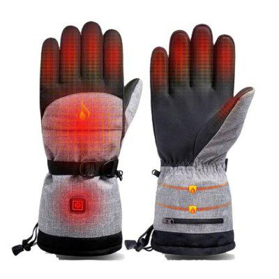 Smart Electric Heating Gloves Outdoor Ski Charging Cycling Warm