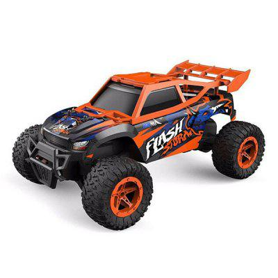 1:16 High-speed Off-road Monster Truck Vehicle Remote Control Car Big Foot Climbing Full Proportional RC Model PVC Toy