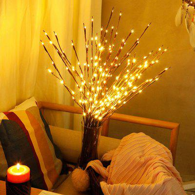 LED Branch Lamp Room Decoration Festival Lights Home Vase Tree Light Battery Case