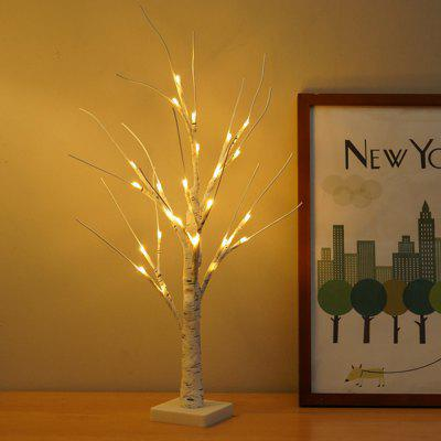 White Birch Light Nightlight Simulation Tree Lamp Living Room Home Decoration Landscape String