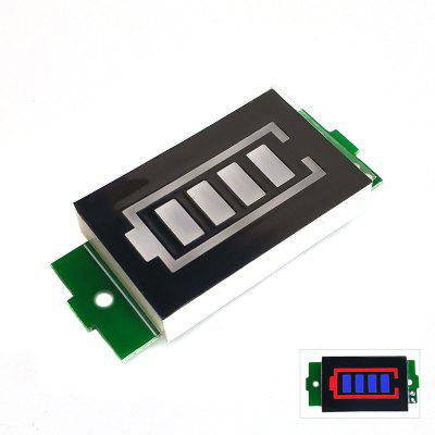 1/2/3/4/6/7 / 8S Lithium Battery Meter Display Module Three String LED Group Indicator