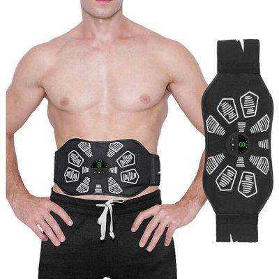 Electric Abdominal Muscle Training Belt Trainer EMS Abdominal Muscle Stimulator Toner Workout Fitness Equipment Home Gym Belt abdominal muscle stimulator ems belt smart fitness massage abs trainer electric body slimming massager home gym