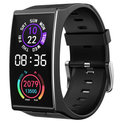 TICWRIS GTX Men Smart Bracelet 300mAh Bluetooth Waterproof Blood Pressure Sport Fitness Wristband for Android iOS