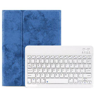 Tablet Case with Keyboard Protective Cover Pen Holder for iPad 2019 New 10.2 inch