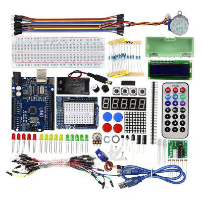 UNO R3 Starter Kit Upgraded Version Beginner Learning Maker