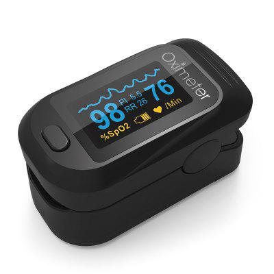 JZ-133R Finger Clip Oximeter PI Perfusion Respiratory Rate Pulse Blood Oxygen Saturation Monitor