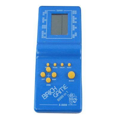 Classic Russian Square Handheld Game Machine Video Consoles for Kids Music Playing Convenience Toy