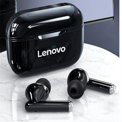 Фото - Lenovo LP1 Bluetooth Earphones Wireless Headset BT5.0 Stereo Dual Microphone TWS IPX4 Sports Waterproof HD Call Ultimate Edition kz zst x earphones circle iron headphones inflator hifi headset tape microphone call game headphones