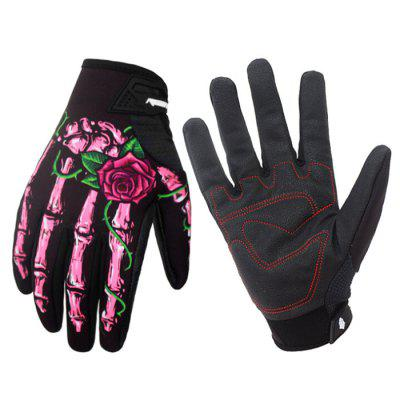 Winter Bike Riding Gloves Outdoor Sports Mountaineering Fitness Touch Screen Full Finger