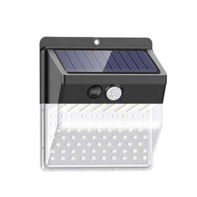 136LEDs LED Solar Body Induction Street Wall Light Infrared Lamp