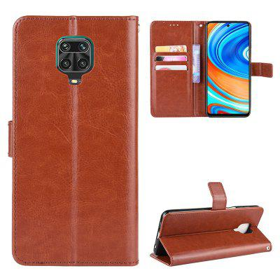 ASLING PU Leather Phone Case with Holder Wallet Card Storage Cover for Xiaomi Redmi Note 9S / 9 Pro Max