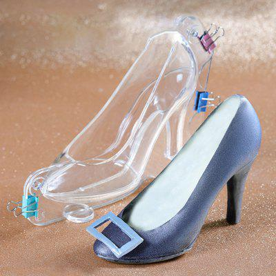 Valentines Day High Heels Mold for Cake Creative 3D Heel Chocolate Decorative Crystal Shoes