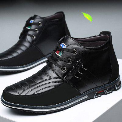 Fashion Casual Breathable High-top Mens Shoes