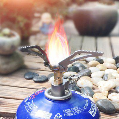 Outdoor Cooking Stove Head Portable Stainless Steel Ultra Light Integrated Air Furnace Cookware