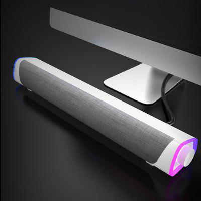 Home Game Computer TV Wireless Speaker 4D Surround Sound Bar Bluetooth 5.0 Stereo Subwoofer Suitable for Xiaomi Redmi Laptop PC