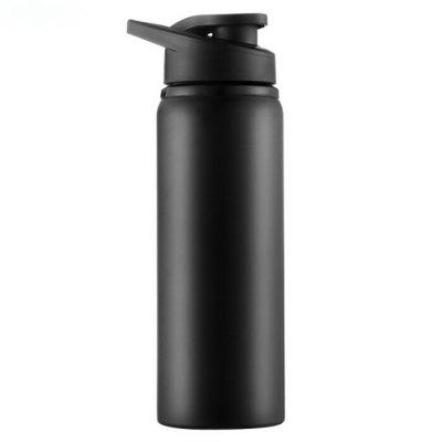 Stainless Steel Sports Kettle Drink Bicycle Water Bottle Outdoor Cycling