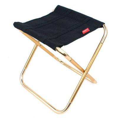 Folding Chair Outdoor 7075 Aluminum Alloy Fishing Barbecue Portable Train Stool Camping Pony