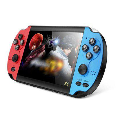 X1 Classic Handheld Video Game Console with 4.3-inch HD Screen for Children and Adult 8GB Pre-positioned 10000 Games
