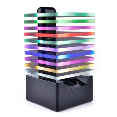 7 Colors Colorful LED Multifunctional Acrylic Bluetooth Speaker