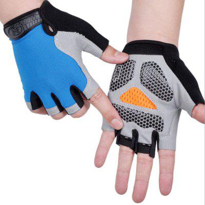 Cycling Half-finger Gloves Fitness Tactics Outdoor Sports Sunscreen Anti-slip Breathable Thin Fingerless Half