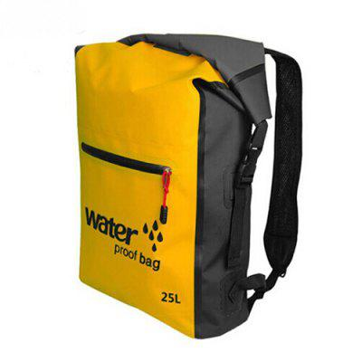 25L PVC Outdoor Swimming Backpack Sack Storage Bag Rafting Riving Sports Kayaking Canoeing Travel Waterproof Dry Ocean Pack