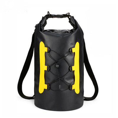 15L Outdoor Waterproof Dry Bag PVC Fashion Drifting Multicolor Folding Backpack