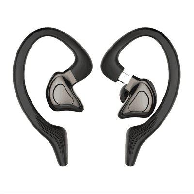 Фото - Q9J Bluetooth Headphone TWS Headset Bluetooth 5.0 Wireless Dual Microphone Stereo Waterproof Sports Headphones CVC Noise Reduction kz zst x earphones circle iron headphones inflator hifi headset tape microphone call game headphones
