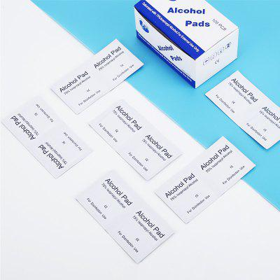 6x6cm Disposable Alcohol Disinfectant Cotton Pads Individually Packaged Clean Alcohol Pack Trial Wiping Tool Household Disinfectants Wipes 10/ Box, Alcohol Disinfection Cotton Pad, Gearbest  - buy with discount
