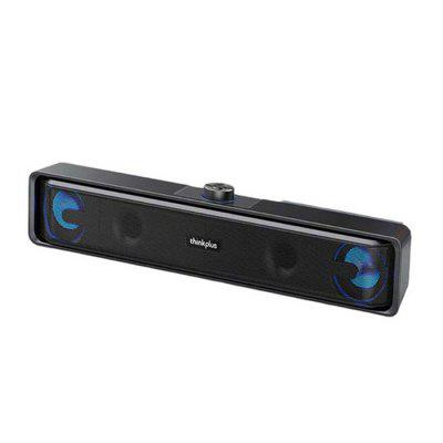 Lenovo TS32 Thinkplus Wireless Bluetooth Speaker Used for Computer USB Wired Sound Bar Subwoofer