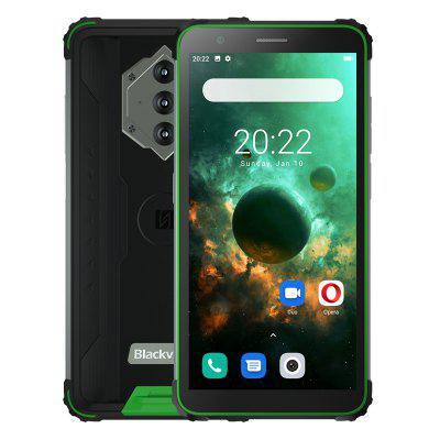 Blackview BV6600 IP68 Waterproof 8580mAh 4G Rugged Smartphone Octa Core 4GB + 64GB 5.7 inch FHD Mobile Phone 16MP Camera NFC Android 10