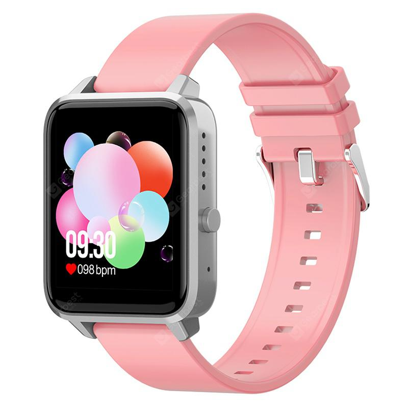 N65 1.65-inch Large Screen Multi-touch Multi-sport Modes Smart Watch with Heart Rate Blood Pressure Detection Bluetooth Call Function Fitness Tracker Smartwatch