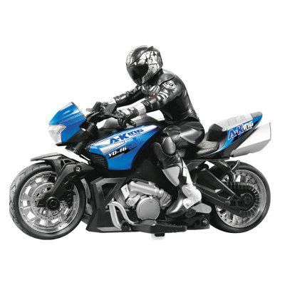 High Speed RC Motorcycle Toy 2.4G Motorcycle Off-road Stunts Climbing Remote Control Car Drift Four-wheel RC Vehicle Model Toy Car diecasts toy voice activated car voice controlled toy car high speed car drift smart watch voice activated remote control car