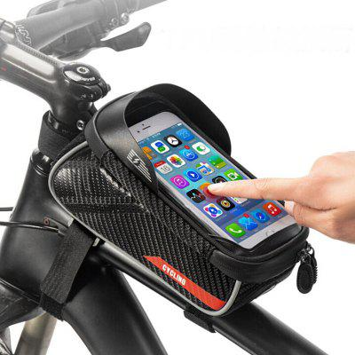 Cycling Front Package Anti-skinned Mobile Phone Bicycle Beam Upper Tube Bag