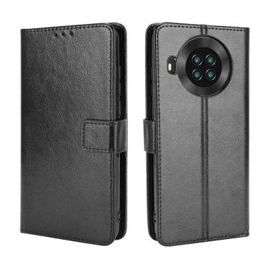 ASLING PU Leather Cover with Holder Wallet Card Storage Phone Case for Cubot Note 20 / Pro