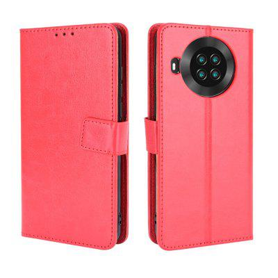 ASLING PU Leather Phone Case with Card Slots Wallet Storage Cover for Cubot Note 20 / Pro