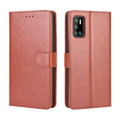ASLING PU Leather Phone Case with Cards Slots Wallet Card Storage Protective for Cubot P40