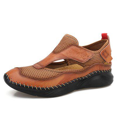 IZZUMI Mens Sandals Summer Casual Breathable Shoes