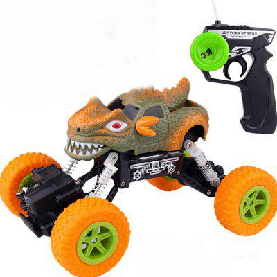 Remote Control Off-road Toy Four-drive Vehicle Big Foot Climbing 4 Channels Crashworthy Children