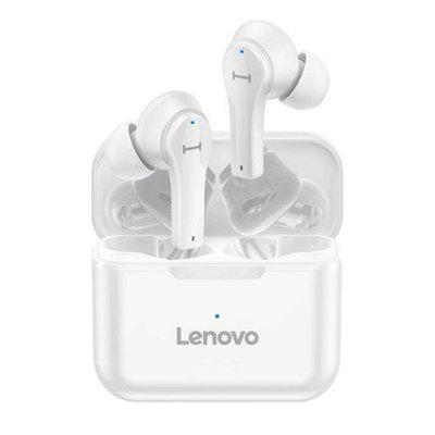 Фото - Lenovo QT82 Wireless Bluetooth 5.0 Earbuds Headphone Touch Control Movement Earphone HIFI 9D Stereo and Microphone IPX5 Waterproof lenovo lp1s wireless bluetooth earbuds headphone