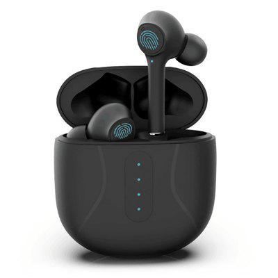 Фото - S16 TWS Bluetooth Headset Ture Wireless Earphones Smart Touch Control HIFI Headphones Sports Waterproof Headphones with Microphone kz zst x earphones circle iron headphones inflator hifi headset tape microphone call game headphones