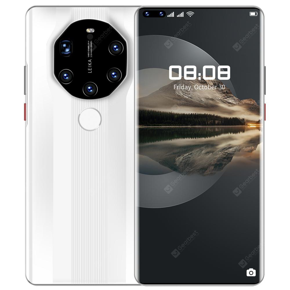 Mate40 RS+ Smartphone MTK 7.3 inch 6GB RAM 64GB ROM Android 9.1 16MP + 24MP Cameras 5000mAh Battery