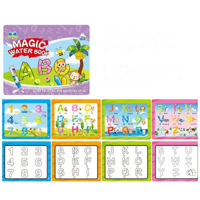 Magic Water Book Chinese Characters Clear Painting Reusable Children Album Card