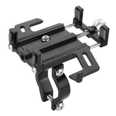 Five-jaw Mobile Phone Holder Aluminum Alloy Motorcycle Navigation Support Smartphone Bracket