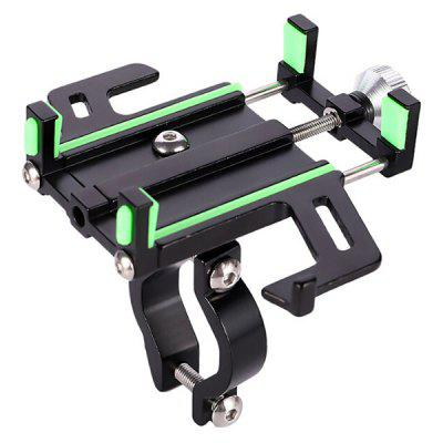 Bicycle Mobile Phone Holder Aluminum Alloy Electric Vehicle Motorcycle Navigation Support Smartphone Bracket