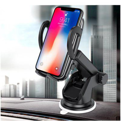 162 Carbon Fiber Car Mobile Phone Holder Multi-function Telescopic Suction Cup Bracket Outlet Navigation Support Stand