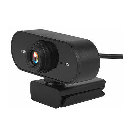 gocomma 2K Full HD USB Webcam Built-in Microphone High-End Video Call Camera PC Peripherals Web for Laptop
