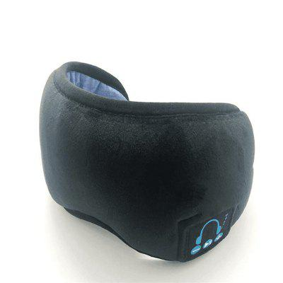 YR-01 Wireless Bluetooth Headphone Sleep Mask Travel Glasses with Built-in Speaker Microphone Hands-free Headset