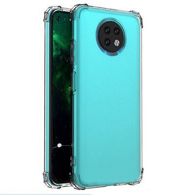 ASLING High-quality Four-corner Airbag Anti-drop Transparent Soft Phone Case Cover for Xiaomi Redmi Note 9T